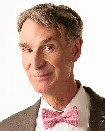 Bill Nye, Scientist, television presenter & mechanical engineer