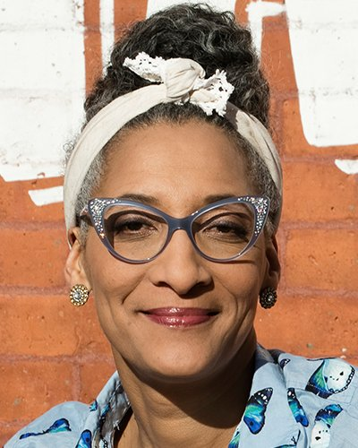 Carla Hall, Emmy-winning television personality, chef, best-selling author