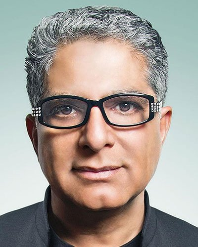 Dr. Deepak Chopra, Best-selling author, doctor and public speaker