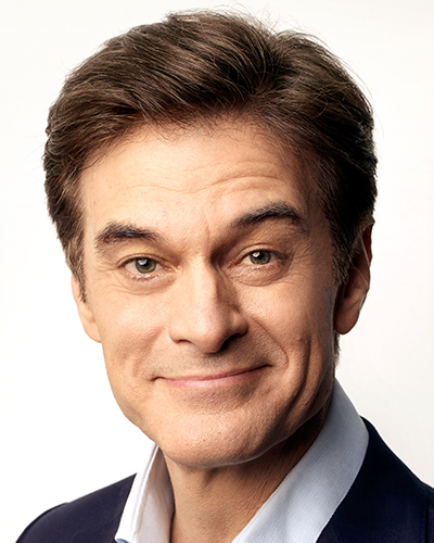 Dr. Oz, Emmy-winning television personality, doctor, best-selling author