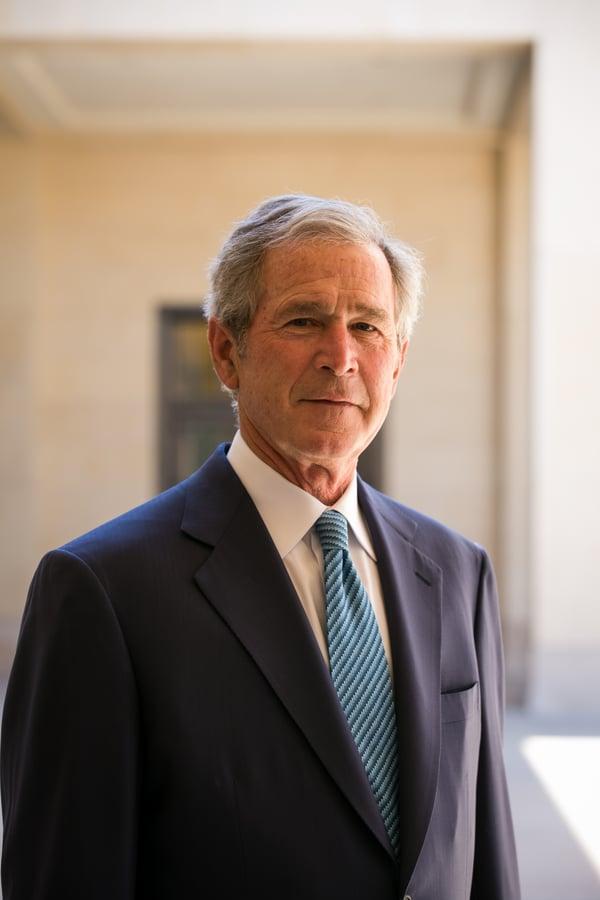 George W Bush_credit Paul Morse (1)-1