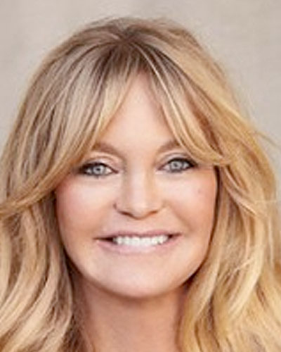 Goldie Hawn, Actress, Producer and Philanthropist