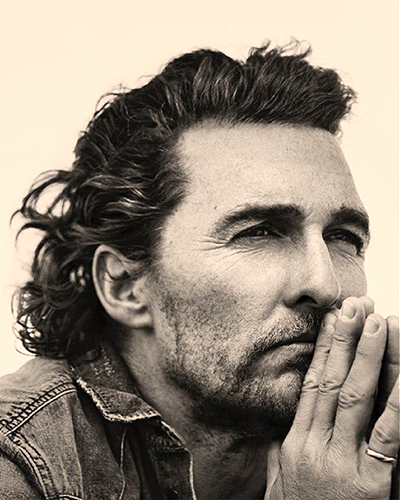 Matthew McConaughey, American actor and producer