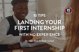10 Tips to Landing Your First Internship