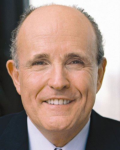Rudy Guliani, 107th Mayor of New York City