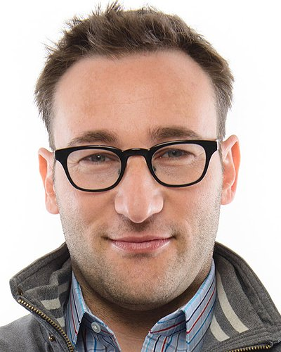 Simon Sinek, New York Times and The Wall Street Journey best-selling author