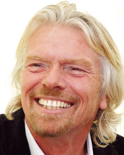 Sir Richard Branson, Humanitarian, activist, adventurer and business icon