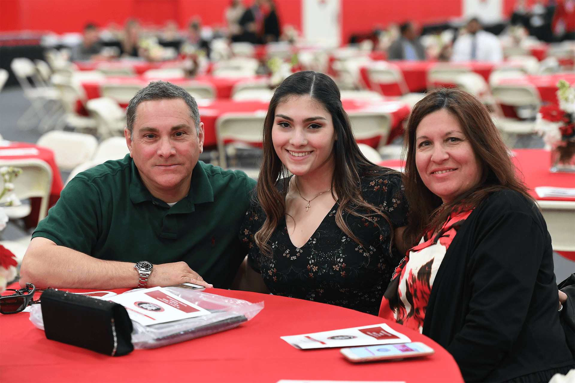 Parents with students